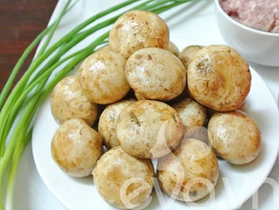 Cách làm nấm mỡ nhồi thịt mới lạ thơm ngon khó cưỡng phần 1