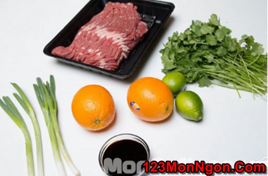 Cách làm thịt bò nướng thơm ngon hấp dẫn nhiều dinh dưỡng phần 1
