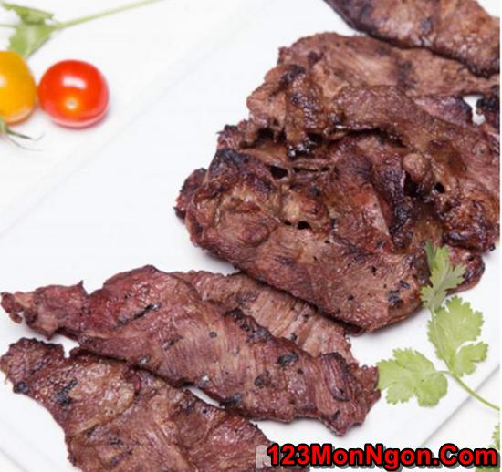 Cách làm thịt bò nướng thơm ngon hấp dẫn nhiều dinh dưỡng phần 8