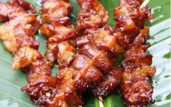 Cách làm thịt xiên nướng nước cốt dừa thơm lừng quyến rũ cực ngon
