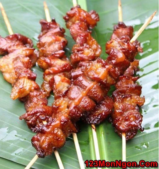 Cách làm thịt xiên nướng nước cốt dừa thơm lừng quyến rũ cực ngon phần 8
