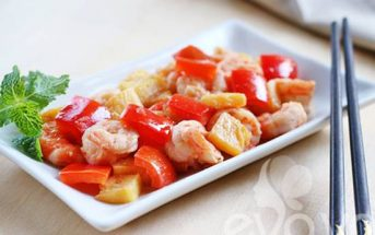 Cách làm tôm xào chua ngọt lạ miệng thơm ngon đậm đà