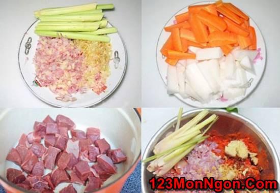 Cách nấu bò kho bò sốt vang đậm đà ngon ngất ngây cho bữa sáng phần 2