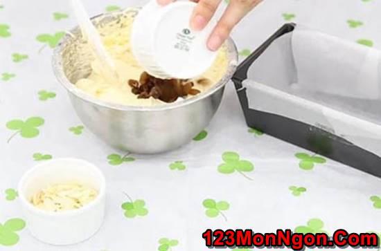 Công thức làm bánh bông lan bơ nho mềm thơm hấp dẫn cực ngon phần 4