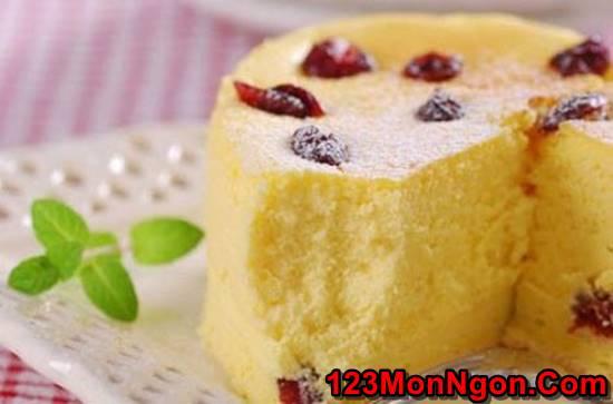 Công thức làm bánh bông lan bơ nho mềm thơm hấp dẫn cực ngon phần 5
