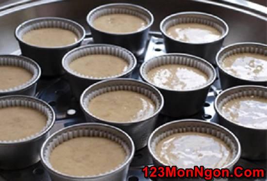 Công thức làm bánh bông lan hấp mềm xốp thơm ngon không ngán phần 4