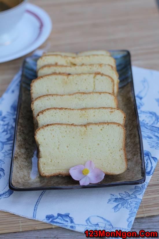 Công thức làm bánh bông lan mật ong thơm ngon bổ dưỡng phần 1