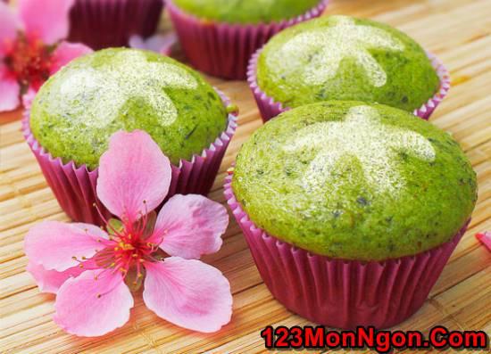 Học cách làm bánh bông lan trà xanh thanh mát xốp mềm ngon khó cưỡng phần 1