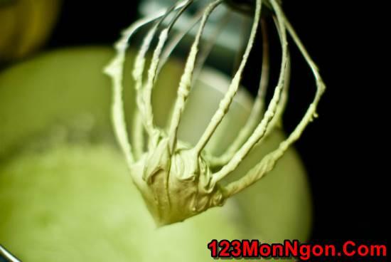 Học cách làm bánh bông lan trà xanh thanh mát xốp mềm ngon khó cưỡng phần 5