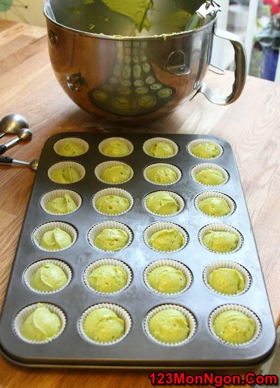 Học cách làm bánh bông lan trà xanh thanh mát xốp mềm ngon khó cưỡng phần 6