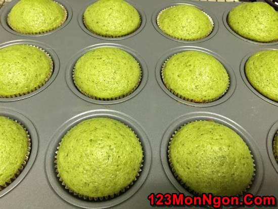 Học cách làm bánh bông lan trà xanh thanh mát xốp mềm ngon khó cưỡng phần 7