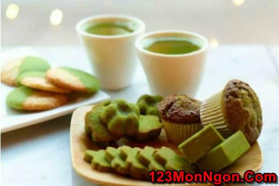 Học cách làm bánh bông lan trà xanh thanh mát xốp mềm ngon khó cưỡng phần 8