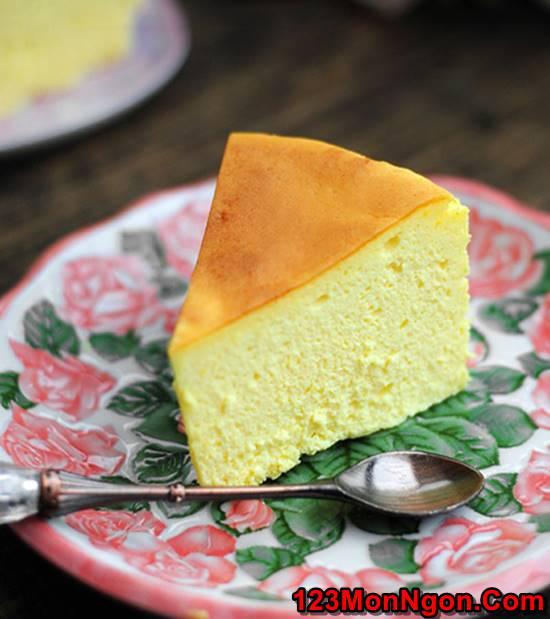 Vào bếp làm bánh bông lan phô mai béo thơm mềm ngon không ngán phần 1
