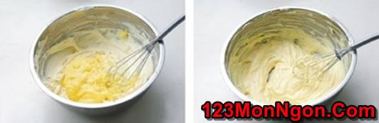 Vào bếp làm bánh bông lan phô mai béo thơm mềm ngon không ngán phần 4
