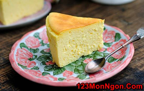 Vào bếp làm bánh bông lan phô mai béo thơm mềm ngon không ngán phần 7